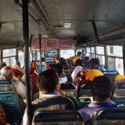 Innenleben vom Bus